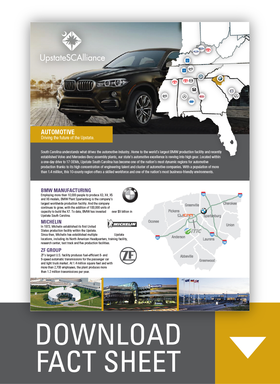Download Automotive Fact Sheet