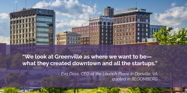 Bloomberg Greenville pull quote