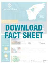 Download the Upstate SC Alliance Life Science Fact Sheet