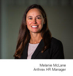 Melanie McLane, HR Manager for Arthrex