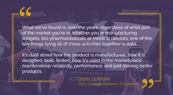 Oisin Curran Odyssey Validation Compliance